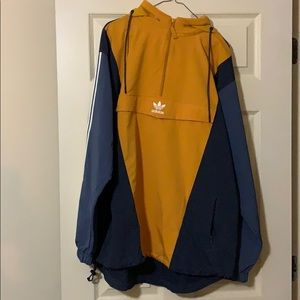 adidas Jackets & Coats - Adidas trefoil pullover large